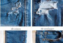 Jeans Style & Refashion