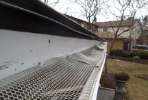 Eavestrough and Gutter Disasters / Here are some shots of eavestrough and gutter issues, if you have trouble like this feel free to give us a call.  1-888-909-1665 #eavestrough #gutter