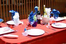 20 Unusual Memorial Day Table Decoration Ideas / 20 Unusual Memorial Day Table Decoration Ideas