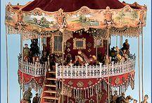 Karuselli koriste-esineet