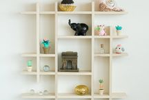 Shadow boxes and display shelves