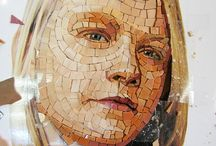 Mosaic portrait tutorials