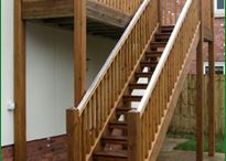Outdoors stairs / External staircases