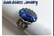 Geek&Gloss Jewelry / by Thilwen Geek and Gloss