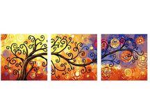 Triptychon Malerei