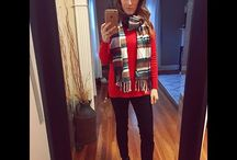Fall & Winter Style / Fall, Winter, Fashion, Clothing, Style, Cold weather, Style blog, Young professional, Fall outfit, Winter outfit, Fall style, Winter style, Fall blanket scarf, scarves, Fall booties, Fall boots, Layered outfit, Nordstrom, Asos, Sole Society, Vince Camuto, Tory Burch, Snowy weather