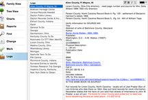 Genealogy Research w-Reunion / by Anita Brown Bennett