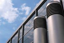 Kominy przemysłowe / Zajmujemy się dostarczaniem kompletnych, rozwiązań przeznaczonych dla sektora przemysłowego w zakresie, układów wentylacyjnych, filtracji oraz stalowych kominów wolnostojących.