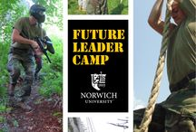 Future Leader Camp / The Future Leader Camp (FLC) is a two-week summer program that builds understanding of small-group leadership techniques, leadership ethics, teamwork, problem solving and communication.   Contact: 802.485.2531 or flc@norwich.edu