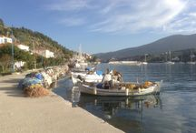 Poros / Poros is a beautiful greek island situated in the Saronic Gulf. It takes one hour to get there by hydrofoil boat and 2 hours by ferry from Pireus.
