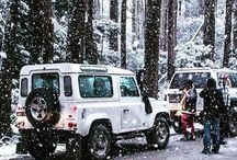 Enjoying the snowfall in Victoria, Australia with a #Defender. #Regram from @invsblazyboy. #Snow #4x4 by landrover http://ift.tt/209mZ9U