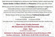 Sudeley Castle Events