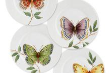 Papillons et oiseaux