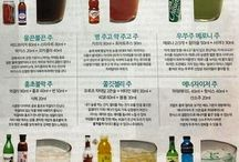 Korea drinks/mix