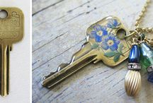 For the Love of Keys / Upcycling, reshaping, & altering... old keys, vintage keys, & unused keys
