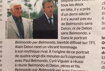 Belmondo par Belmondo / Bientôt diffusé sur TF1, le film Belmondo par Belmondo retrace la vie du Magnifique.   Au volant d'une Mustang, Paul conduit son père sur les lieux mythiques où ont été tournés les films qui l'ont rendu célèbre. Une véritable immersion dans leur intimité...