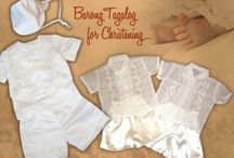 Christening / Any christening outfit you choose from our selection is bound to make you even more proud of your baby on this holy day. http://www.barongsrus.com/barong/christening-c-27.html