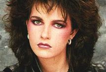 1980s hair and makeup