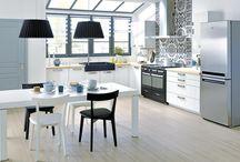 Cocinas / Cocinas de todos los estilos, prácticas y funcionales. Ideas para elegir los muebles de la cocina, los revestimientos y los colores.