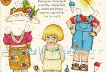 Paperdolls 12- Mary Engelbreit / Please visit all 12 of my paper doll boards. / by GardenOfDaisies