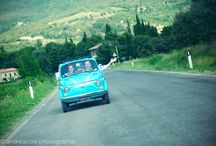 Bridal Cars & Mopeds / From a vintage Fiat 500 to a Vespa moped the options for an italian wedding are endless.