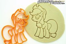 My Little Pony Cookie Cutters