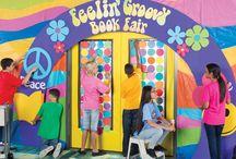 Feelin Groovy Bookfair / Spring 2016 bookfair theme / by amy nagel