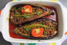 Turkish/Moroccan dishes