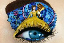 Сумасшедший макияж глаз