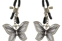 Nipple clamps / FETISH FANTASY SERIES BUTTERFLY NIPPLE CLAMPS  £9.99