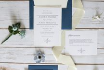 Navy and Cream Wedding