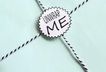 Masking Tape/Gift Wrapping