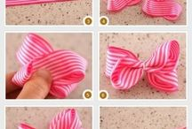 DIY Hair accessories for girls