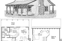 Bucketlist: Cabins / Cabin Floor-plans & more...