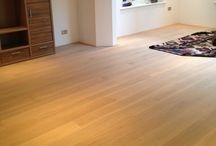 Living Room / Client: Private Residence In East London Brief: To supply and install wood flooring in the client's living room.