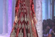 Indian Designers Romance 'Marsala' in 2015 / It goes without saying that colour influences fashion and hence our wardrobe. This year's colour was the sultry Marsala, a dramatic and powerful hue that can work with various skin tones and spells sophistication and luxury. Many designers have incorporated this opulent colour into a variety of their collection from Spring-Summer to Autumn-Fall, as well as their bridal and couture showcases. Let's go down the memory lane!