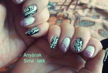 Nails-  Makeup / Köröm -  Smink