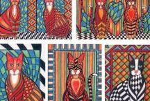 Art - My Original Artwork Greetings Cards / Art Greetings Cards, created from my original artworks