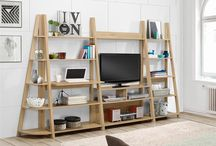 Nordic Occasional Range / This stylish and contemporary range of occasional furniture which can work well as a standalone product or team it with our other Nordic shelving units to provide shelving that's tailor-made for any home.