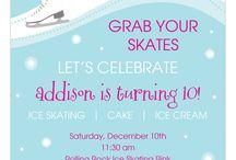 Winter Party Invitations / 0