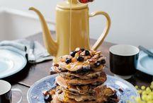 b r e a k f a s t / Inspiration zum Frühstück -Pancakes, Fruit Bowls & co. // breakfast inspiration