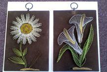 Stringart flowers