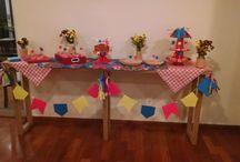 [Festa Real] Festa Junina / Decoração elaborada para uma festa junina