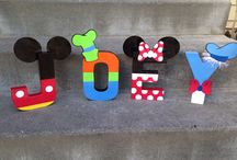 Mickey Mouse Club House 1st birthday Theme / Lettering ideas / by Manuchca J