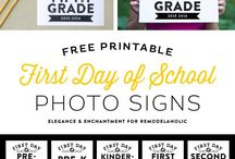Back to School / Back to school printables, gifts, DIY ideas and more! / by Michelle // Elegance & Enchantment