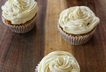 Healthy muffins and frosting