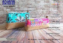 ariana boxy pouch