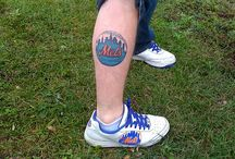 Mets Ink / Mets inspired tattoos and body art