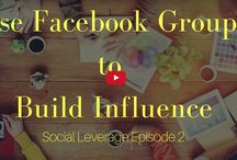 The Social Leverage Show / Hosted by Rob Anspach and Devani Alderson this weekly show teaches entrepreneurs how to leverage social media to grow their business.