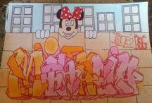 Graffiti sketch
